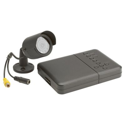 Wired Colour Camera ad 2 Channel DVR CCRV Kit