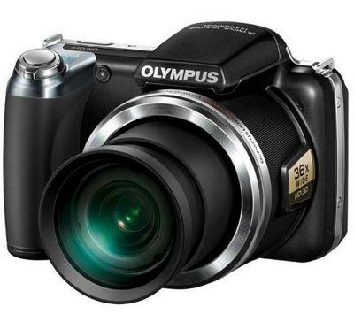 Olympus SP-810UZ 14MP Digital Camera Black