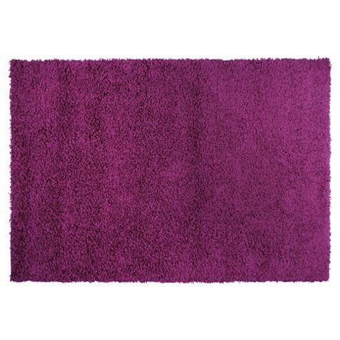 Tesco Rugs Tesco alpine shaggy rug plum 80x150cm