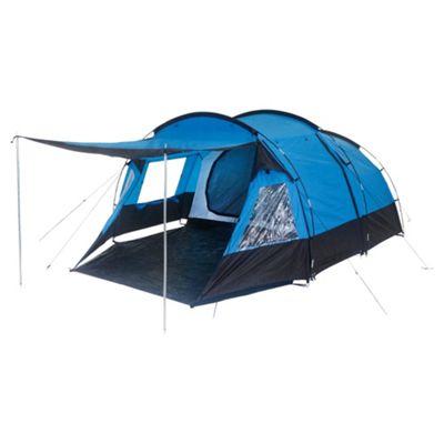 Tesco 4-Man Tunnel Tent