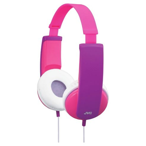 JVC Tiny Phones Kids Stereo Headphones Pink HAKD5P