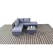 Luxan WGF-1501 Platinum Small Corner Set - Grey