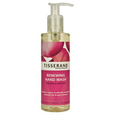 Tisserand Renewing Hand Wash (Wild Rose & Lemon Leaf)