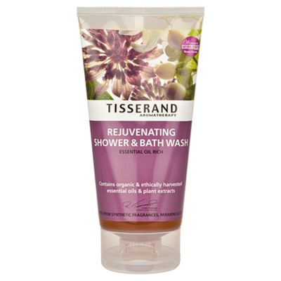 Tisserand Rejuvenating Shower & Bath Wash (Essential Oil Rich) 175 ml