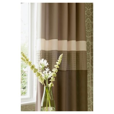 Catherine Lansfield Nova Lined Eyelet Curtains W167xL183cm (66x72