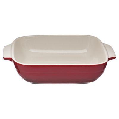 Mason Cash 24cm Square Roasting Dish, Red