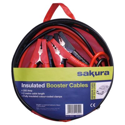 Sakura Booster Cables SS3624, 200 amp