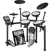 Roland TD-11KV V-Drums Electronic Drum Kit With FREE Backbone Drums Tutorial Book And Play Along C.D Worth £15.99
