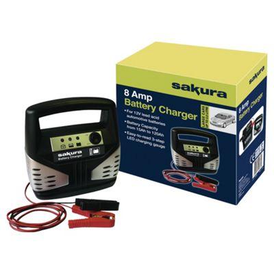 Sakura 8 amp Battery Charger SS3631