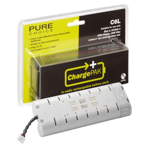PURE ChargePAK C6L Rechargeable Battery - Gray