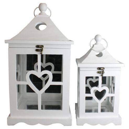 White Heart lanterns