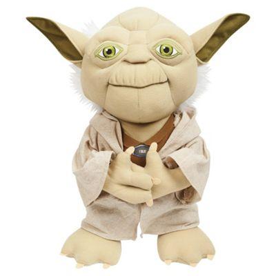 Star Wars Yoda Talking Soft Toy