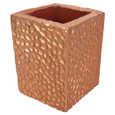 Bronze Square pillar large 7.5*7.5*15