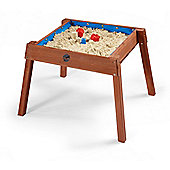 Plum Build and Splash Wooden Sand and Water Table