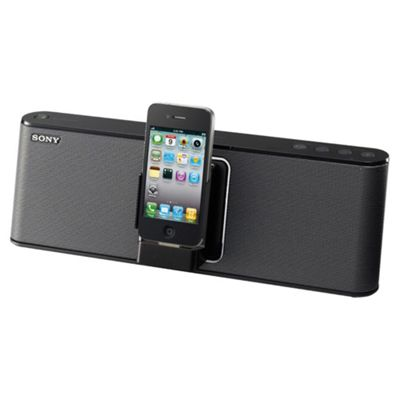Sony RDP M15 Black Docking Speaker - compatable with Ipod and Iphone