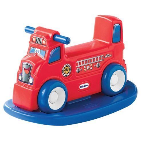 Little Tikes Rock n' Scoot 2-In-1 Fire Truck Ride-On