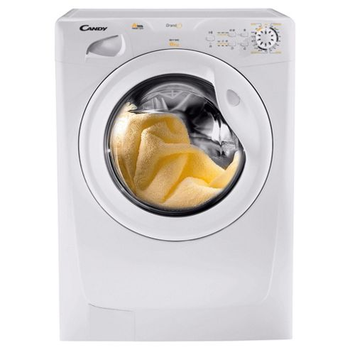 Candy GOF842 Washing Machine, 8kg Wash Load, 1400 RPM Spin, A Energy Rating. White
