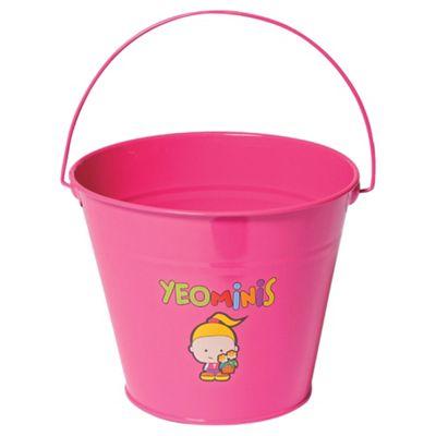 Yeominis Kids Character Bucket, Pink
