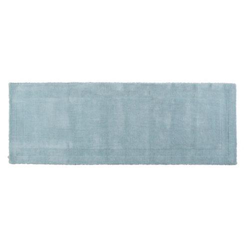 Tesco Plain Wool Runner 70 x 200cm, Duck Egg