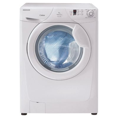 Hoover OPHS712DF Washing Machine, 7kg Wash Load, 1200 RPM Spin, A+ Energy Rating. White