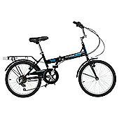 Classic Saker 6-Speed Folding Bike