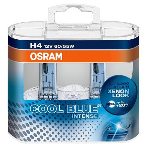 Osram H4 Cool Blue Intense Car Bulb Duo Pack