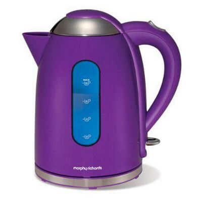 Morphy Richards 43807 Pf 1.7 litre Accents Dome Kettle in Purple