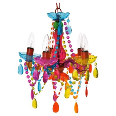 Buy present time mini gypsy multi colour chandelier from our present time mini gypsy multi colour chandelier aloadofball Image collections