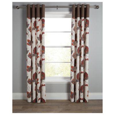 Marrakesh Print Eyelet Curtains W163xL137cm (64x54