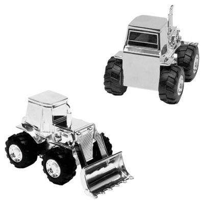 Sliver-plated Digger Money Box