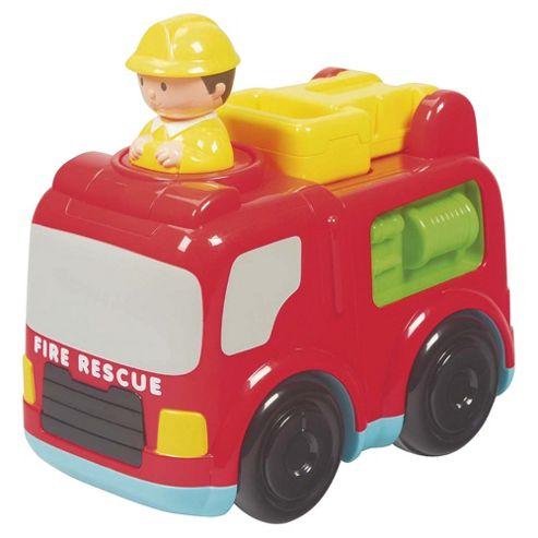 Carousel Press 'n' Go Fire Engine
