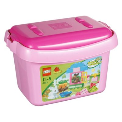 LEGO Duplo Pink Brick Box