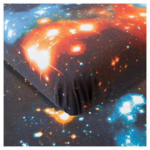 Outer Space King Size Fitted Sheet