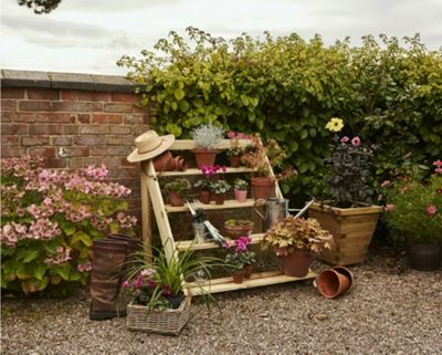 buy stowford step planter from our planters range tesco. Black Bedroom Furniture Sets. Home Design Ideas