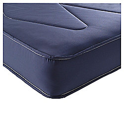 Airsprung Single Mattress, Essentials Kids Waterproof Anti Dust, Navy