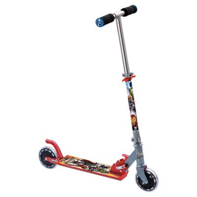 Marvel Avengers 2-Wheel Folding Inline Scooter