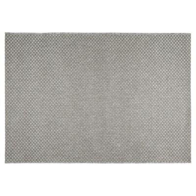 Tesco Rugs Textured Flatweave Rug Stone 120X170Cm