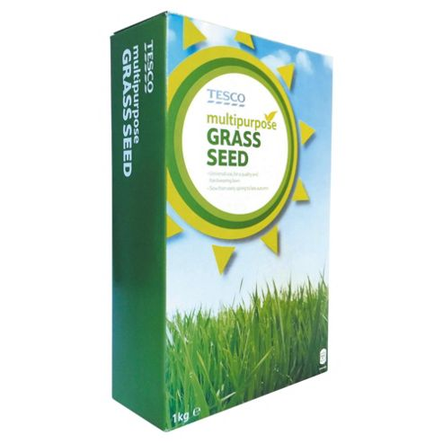 Tesco Multi Purpose Grass Seed 1Kg