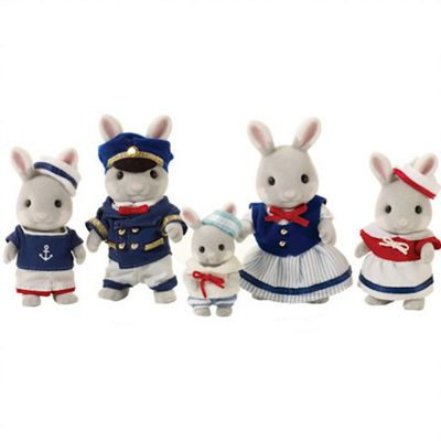Sylvanian Families Celebration Sea Breeze Rabbit Family