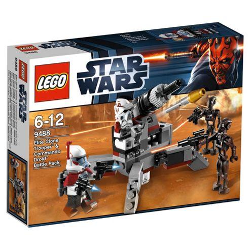 LEGO Star Wars Elite Clone Trooper & Commando Droid Battle Pack 9488