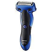 Panasonic ESSL41A 3 Blade Wet/Dry Men's Electric Shaver - Blue
