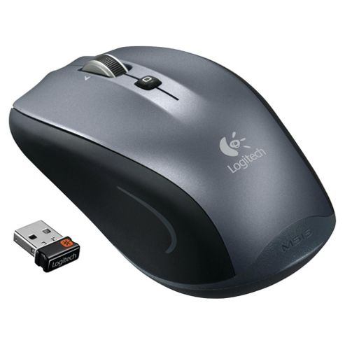 Logitech M515 Wireless Optical Mouse - Silver