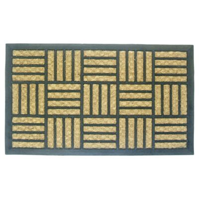 Panama Rubber And Coir Doormat 40x60cm