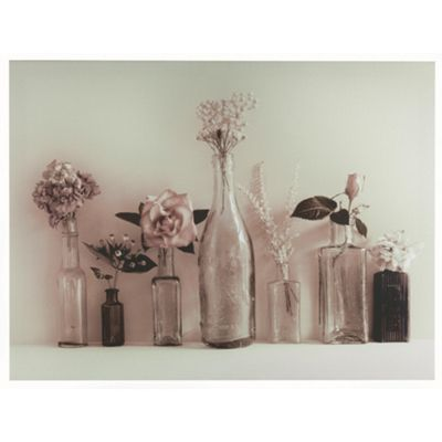 Glass Bottles Canvas