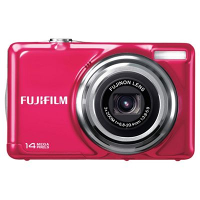 Fujifilm FinePix JV300 Pink Digital Camera