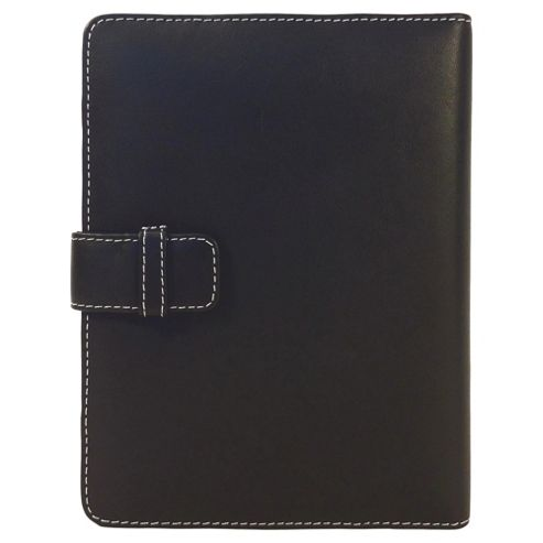 Tesco Finest Leather Folio Kindle Case - Black
