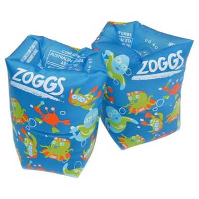Zoggs Roll-Ups Swimming Armbands, Blue