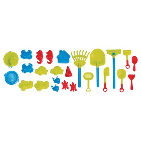 Tesco 25-piece Sand & Beach Accessories Set
