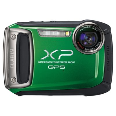 Fujifilm FinePix XP150 Digital Camera, Green, 14MP, 5x Optical Zoom, 2.7 inch LCD Screen