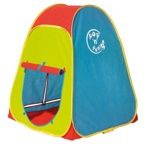 Worlds Apart Pop N Fun 4-Sided Play Tent